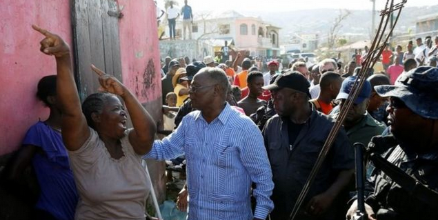 Haiti faces a 'major food crisis', its interim president says