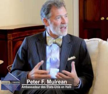 Départ de l'Ambassadeur Peter Mulrean