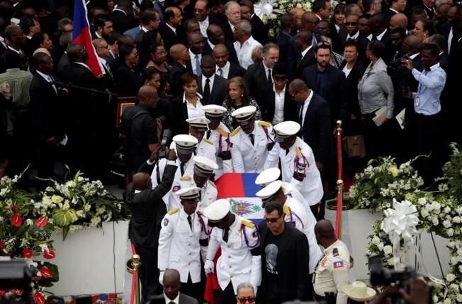 Haiti says final farewell to former president Preval