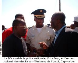 COLONEL REBU: Un nouveau directeur-général de la Défense à l'attaque