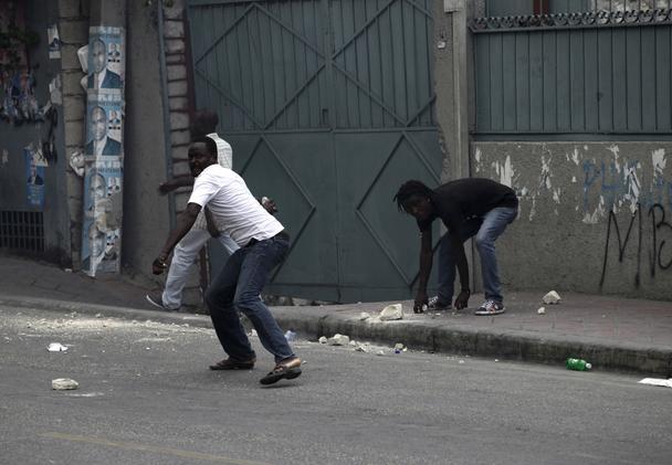 LES TERRORISTES À L'ŒUVRE EN HAITI!