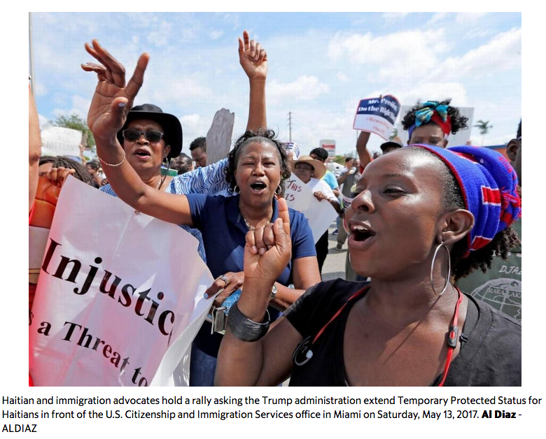 Immigration activists and lawyers offer Haitians hope, vowing TPS fight is not over- Added COMMENTARY By Haitian-Truth