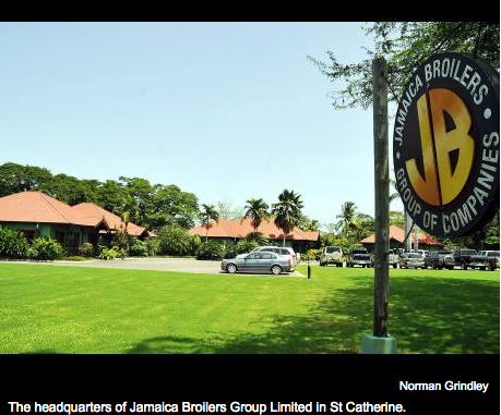 Jamaica Broilers reports $2b profit
