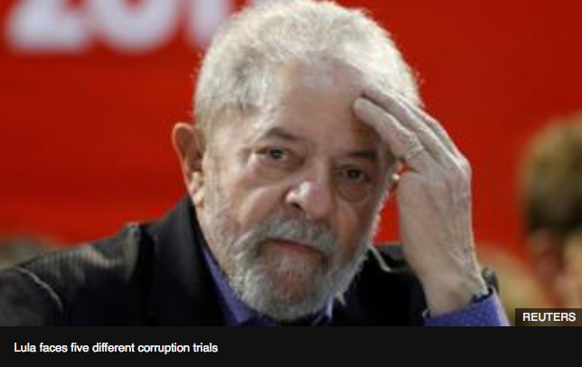 Brazil's ex-President Lula convicted of corruption
