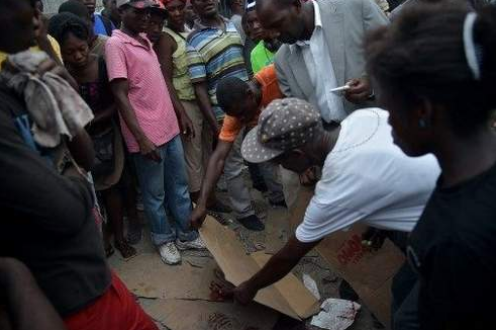 Haitian police fatally shoot man during clashes with merchants
