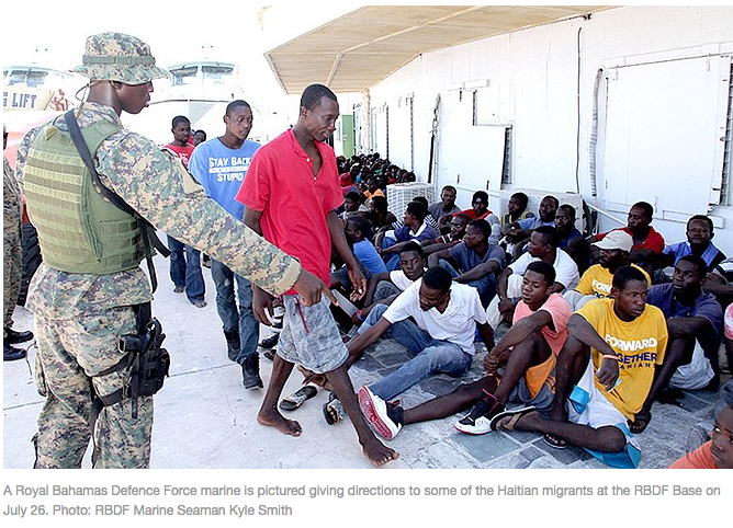 Long Island Swoop Stops Over 100 Haitian Migrants