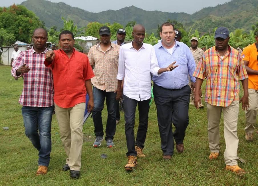 Le President Jovenel Moïse lance les travaux de la Caravane à Baradères