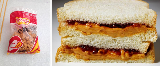TORRITOS VS PEANUT BUTTER GRAPE JELLY SANDWICHES AS SCHOOL LUNCH – KIDS WITH PEANUT BUTTER RIDCULED AS BEING POOR – TIME FOR EDUCATION MINISTER TO CORRECT THIS HUMILIATION