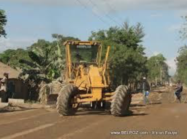WATCH THE ATTACHED VIDEO OF PRESIDENT MOISE'S  NW ROAD CONSTRUCTION