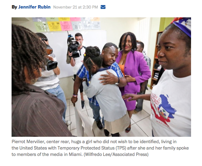 Abject cruelty: Deporting 60,000 Haitians