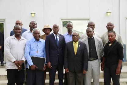 Jovenel Moïse lance les préliminaires des états généraux sectoriels