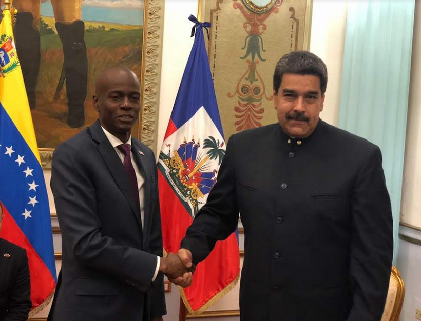 Presidents of Venezuela and Haiti Sign Cooperation Agreements