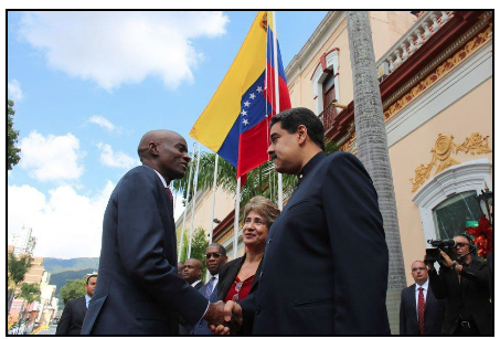 Venezuela and Haiti signed agricultural, energy and financing agreements