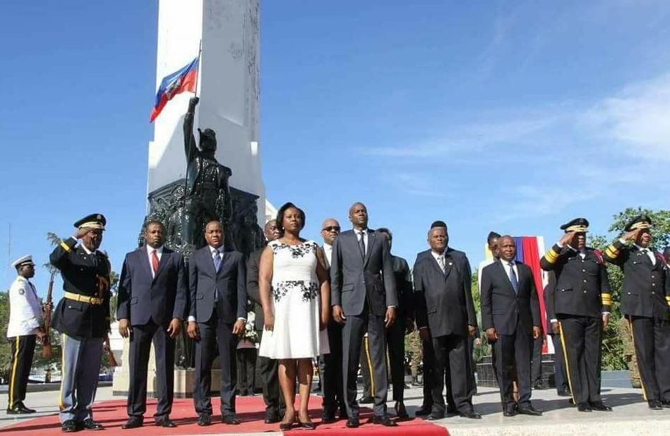 Commémoration des 214 ans de l'indépendance : Jovenel Moïse appelle les Haïtien(ne)s à changer de comportement envers Haïti en vue de mieux honorer la mémoire des ancêtres