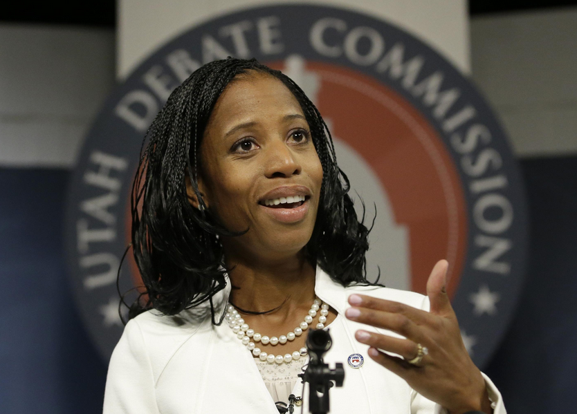 Haitian/American Republican Congresswoman Mia Love comments on Trump's vulgar remarks: 'I can't defend the indefensible'
