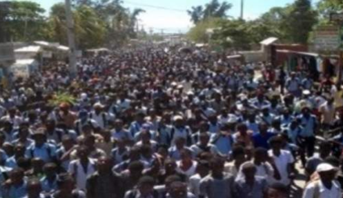 Haiti accuses striking teachers of instigating student protests