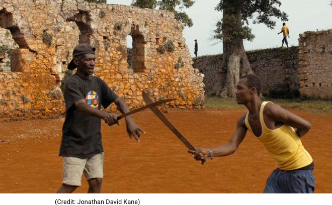 "Dancing with the blade: ""Papa Machete"" explores a secret Haitian martial art"