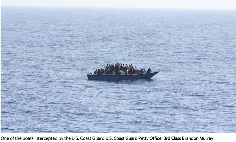Coast Guard repatriates 201 migrants by sea to Haiti