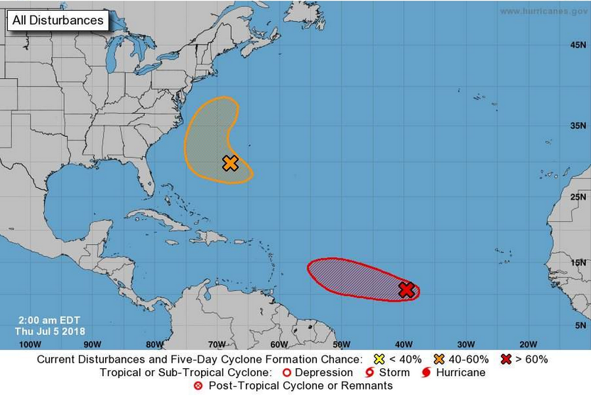 Atlantic system strengthens into Tropical Storm Beryl, could dissipate before impacting Florida