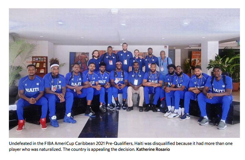 Haiti hoped this competition would be its basketball comeback. Then came bad news- Added COMMENTARY By Haitian-Truth