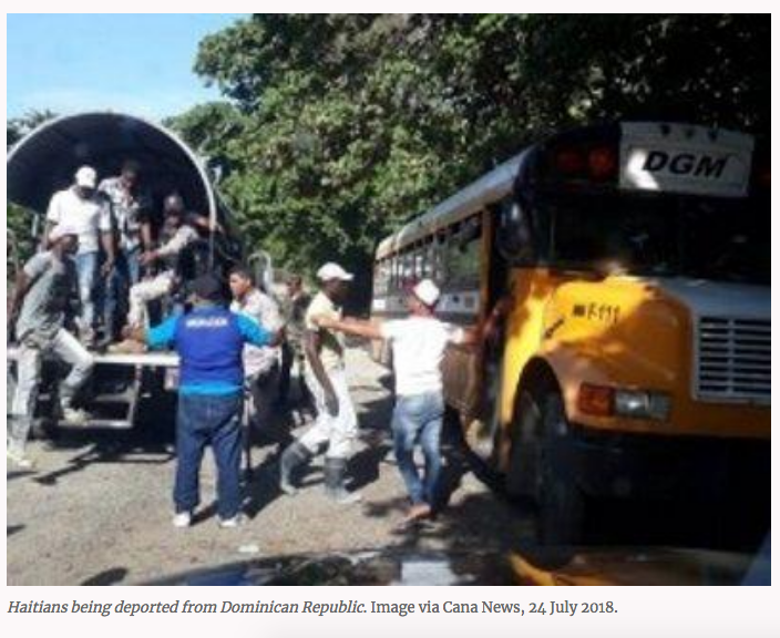 RACIST DOMINICAN REPUBLIC DEPORTS SOME WHO HAVE LIVED IN DR FOR 10 YEAR OR MORE- Added COMMENTARY By Haitian-Truth