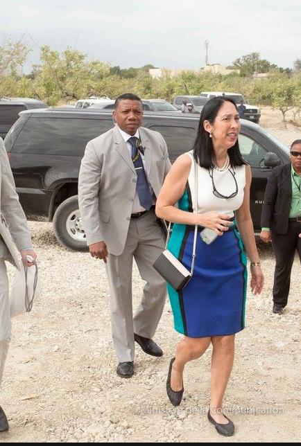 L'Ambassadeur des États-Unis en Haïti, Michele Sison